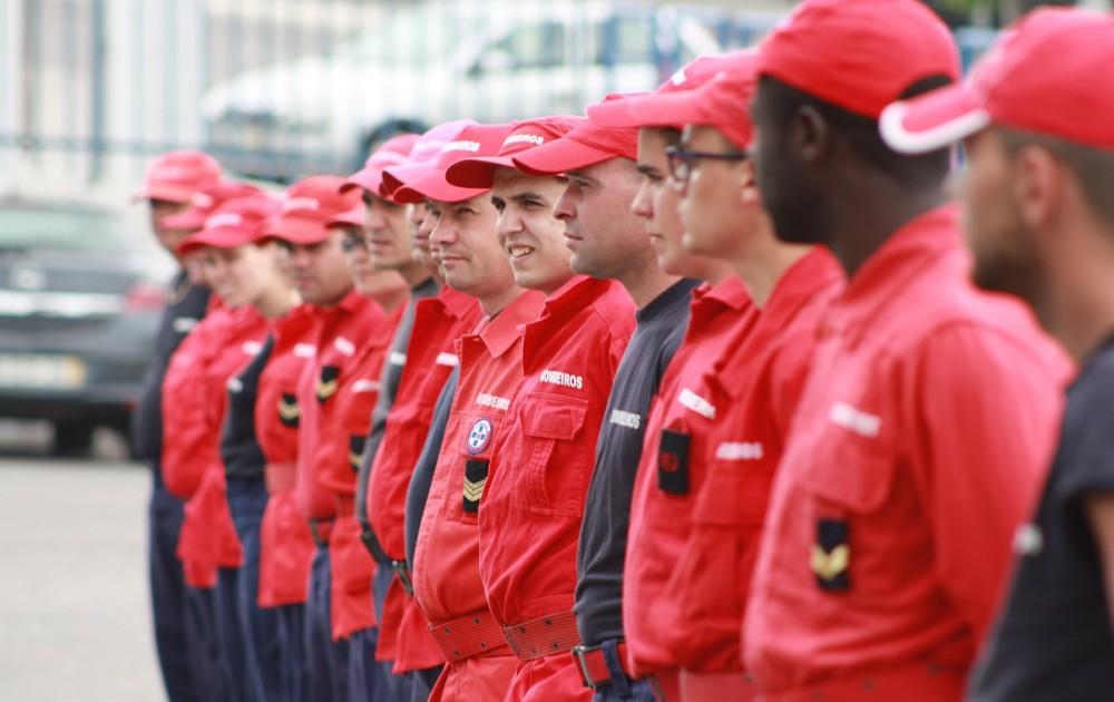 Reforço de Bombeiros Voluntários de Montalegre